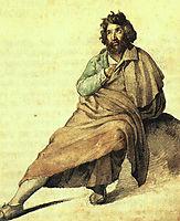 An Italian montagnard , gericault