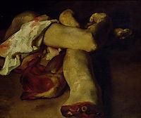 Anatomical Pieces, 1819, gericault
