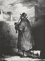 TheBagpipeplayer, 1821, gericault