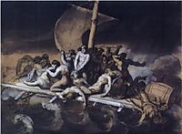 Cannibalism on the Raft of the Medusa, 1818-19, gericault