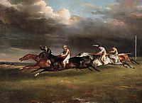 The Epsom Derby, 1821, gericault