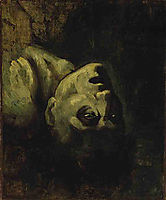 Head of a Drowned Man, c.1819, gericault