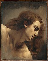 The head of young man, gericault