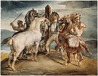 The Horse Market, gericault