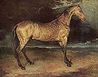 Horsein thestorm, 1821, gericault