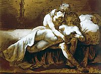 The Kiss, c. 1822, gericault