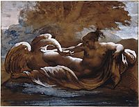 Leda and the Swan , gericault