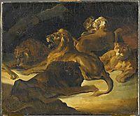 Lying Lions, gericault