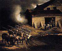 The Plaster Kiln, 1822-23, gericault