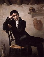 Portrait of an Artist in His Studio, c. 1820, gericault