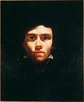 Portrait of Eugene Delacroix, 1819, gericault