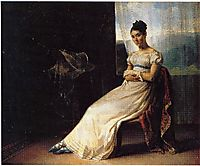 Portrait of Laura Bro, 1820, gericault