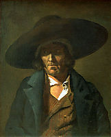 Portrait of a Man, The Vendean, 1823, gericault