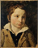 Portrait of young boy, probably Olivier Bro, gericault