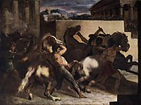 Riderless Horse Races, 1817, gericault