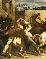 Riderless Horse Races (detail), 1817, gericault