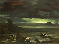 Scene of the Deluge, gericault