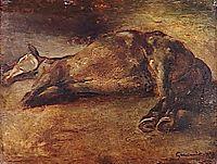 StudyforDead horse, 1823, gericault