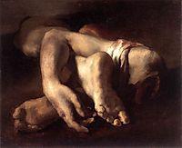 Study of Feet and Hands, 1818-19, gericault