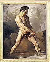 Study of a Male Nude, gericault