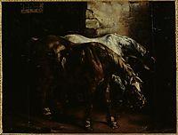 Twopost-horses, gericault