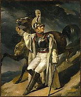 The Wounded Cuirassier, 1814, gericault