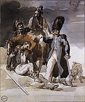 Wounded Soldiers Retrating from Russia, c. 1814, gericault
