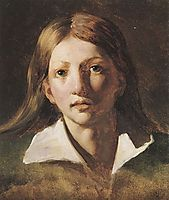 Young blond man, 1819, gericault