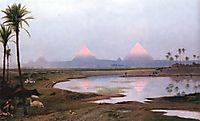 Arab Encampment, 1895, gerome