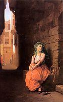 Arab Girl with Waterpipe, 1873, gerome
