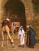 Arabs Arguing, 18, gerome