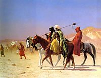 Arabs Crossing the Desert, 1870, gerome