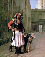 Arnaut of Cairo, 1871, gerome