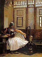 Arnaut Smoking, 1865, gerome