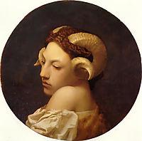 The Bacchante, 1853, gerome