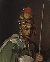 A Bashi Bazouk, c.1869, gerome