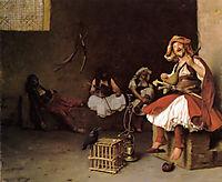 BashiBazouk Singing, 1868, gerome
