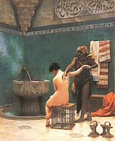 The Bath, gerome