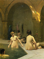The Bathers, gerome