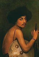 Bisharin Warrior, 1872, gerome