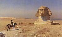 Bonaparte Before the Sphinx, 1868, gerome