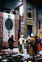 The Carpet Merchant, 1887, gerome