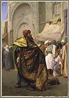 The Carpet Merchant of Cairo, c.1869, gerome