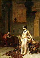 Cleopatra and Caesar, 1886, gerome