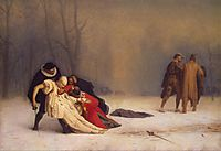 The Duel after the Masquerade, 1859, gerome