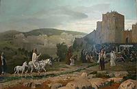 Entry of the Christ in Jerusalem, 1897, gerome