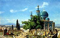Field of Rest, 1876, gerome