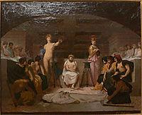Funeral Wake, 1855, gerome