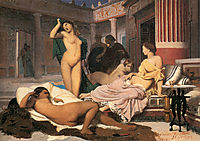 Greek Interior, 1848, gerome