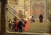 The Grey Cardinal, 1873, gerome